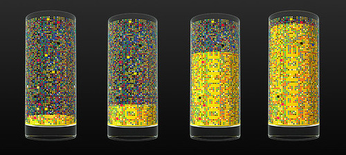 Cipher Drinking Glass Concept (Image courtesy Damjan Stankovic)