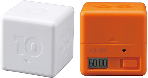 Cubic Timer (Images courtesy A+R Store)