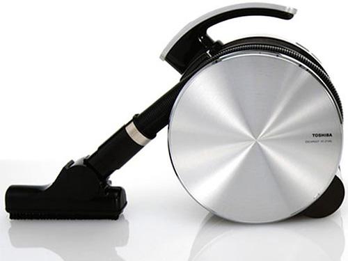 Toshiba Escargot Vacuum (Image courtesy designboom)