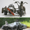 Motorcycle With A WWII Fighter-Inspired Sidecar – Why Ask Why?
