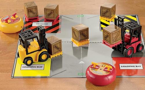 Forklift Challenge (Image courtesy Solutions)