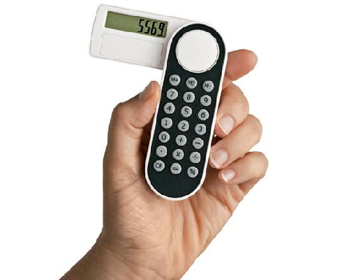 One-Hand Calculator (Image courtesy Solutions)