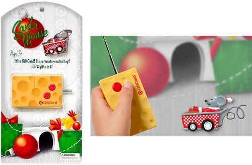 Target Remote Control Gift Card (Images courtesy Target)