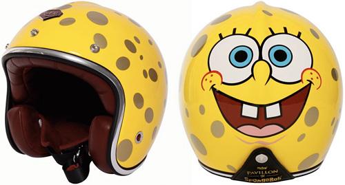Les Ateliers Ruby SpongeBob Helmet (Images courtesy colette)