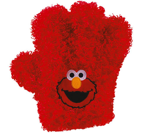 Elmo's Tickle Hands (Image courtesy Fisher Price)