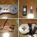 Modded SNES Controller Features a USB Cable And Flash Drive Full Of ROMs
