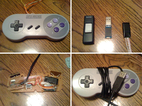 All in one SNES controller arcade (Images courtesy techgeek90)