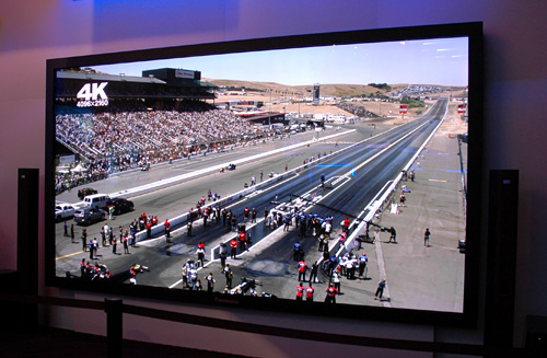 Panasonic's 152-Inch 4096x2160 Ultra HD Plasma Display (Image property OhGizmo!)