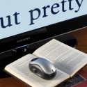 Wireless Magnifier Displays Tiny Text On Your Giant TV