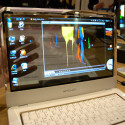 [CES 2010] Concept Laptop With Transparent AMOLED Display