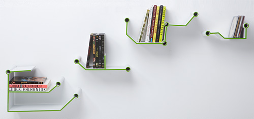 Short Circuit Shelf (Image courtesy Alexandra DiCairano)