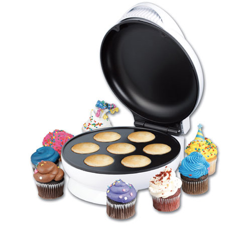 Mini Cupcake Maker (Image courtesy What On Earth)