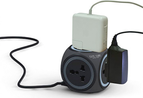 Cute Cube Power Bar Concept (Image courtesy Red Dot Design Awards)