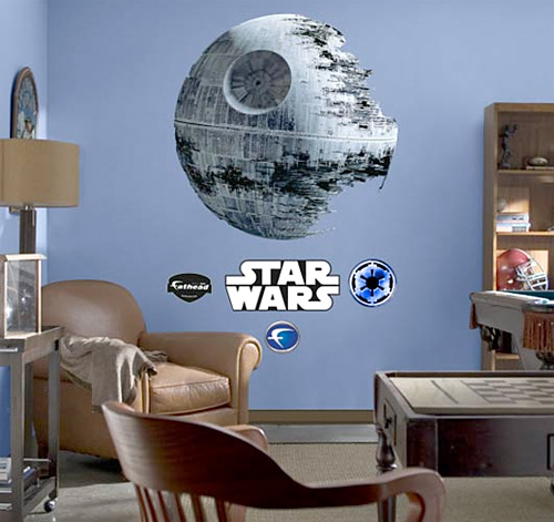 Death Star Fathead Wall Graphic (Image courtesy StarWarsShop.com)
