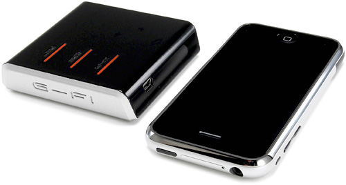 G-Fi Mobile Network & GPS Router (Image courtesy PosiMotion)