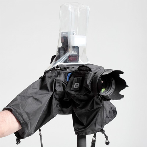 Hydrophobia Flash 70-200 SLR Rain Cover (Image courtesy Think Tank)