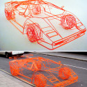 Wireframe Lamborghini Koenig Countach Can Be Yours For £40,000