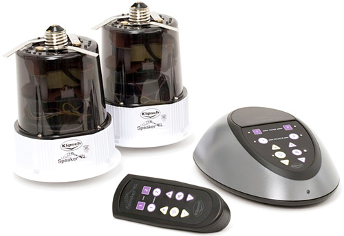 Klipsch LightSpeaker System (Image courtesy Klipsch)