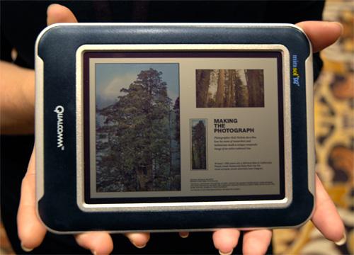Qualcomm's Mirasol Display (Image property OhGizmo!)