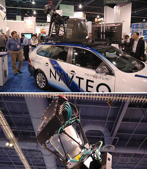 Navteq's LIDAR Car (Image property OhGizmo!)