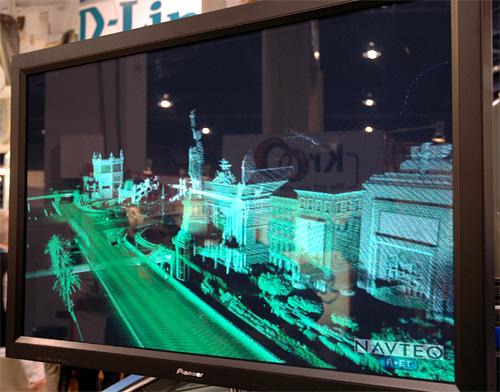 Navteq's LIDAR Data (Image property OhGizmo!)