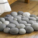 Clustered Felted Stone Mat