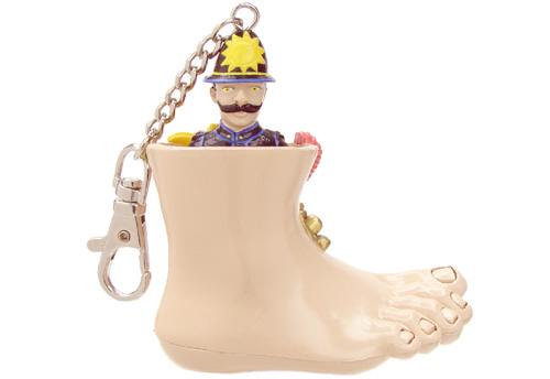 Monty Python Abusive Voice Keychain (Image courtesy Play.com)
