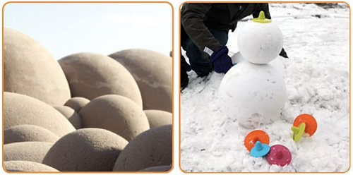 Sand Shapers Sand & Snow Carving Tool (Images courtesy International Innovation Company)