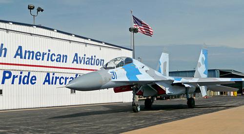 Sukhoi Su-27 Flanker (Image courtesy Pride Aircraft)