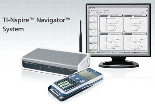 TI-Nspire Navigator System (Image courtesy Texas Instruments)