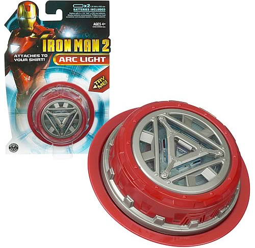 Iron Man ARC Light (Image courtesy Entertainment Earth)