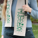 Arecibo Scarf Perfect For Keeping Warm / Making First Contact