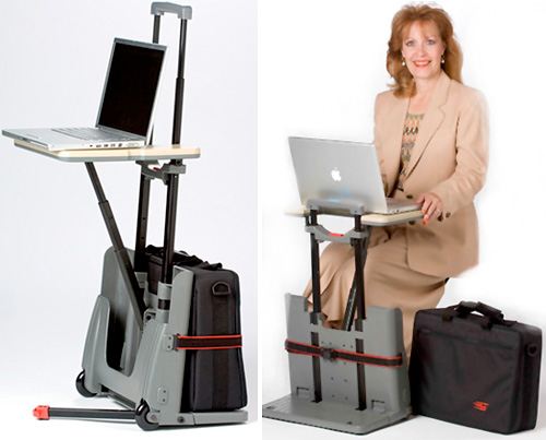 CartDesk Luggage Trolley (Images courtesy Comfort House)