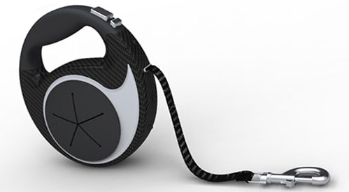 Self-Charging Retractable Dog Leash (Image courtesy Fido Fashions)