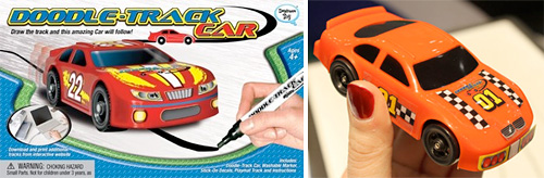 Doodle Track Cars (Images courtesy Popular Science & Daydream Toy)