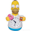 Animated Homer 'Beer Vs. Donut' Clock