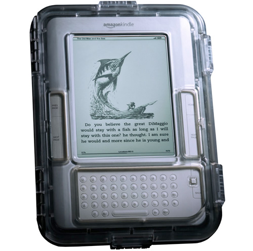Guardian Floating, Waterproof Case For The Kindle (Image courtesy M-Edge)