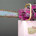 Hello Kitty Chainsaw Will Ironically One Day Be Necessary For The Inevitable Hello Kitty Apocalypse