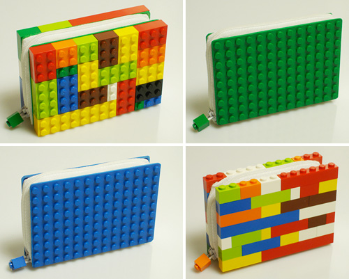 LEGO Wallets (Images courtesy ColorByNumbers)