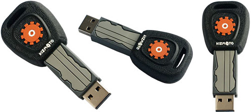 MotKey USB Flash Drive (Images courtesy Active Media Products)