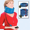 Neck Traction Designed To Relieve Neck Pain – Looks Comfortable To Me!