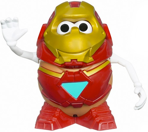Mr. Potato Head: Iron Man Edition (Image courtesy COOL TOY REVIEW)