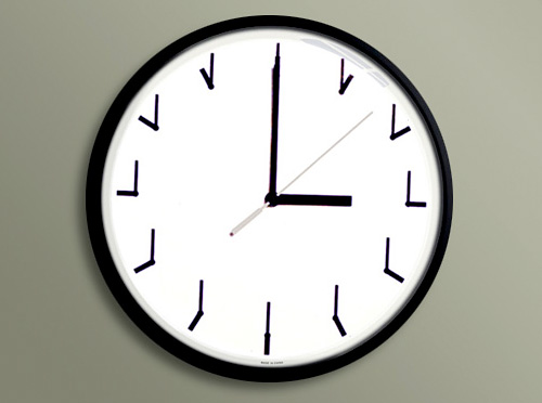 Redundant Clock (Image courtesy Ji Lee)