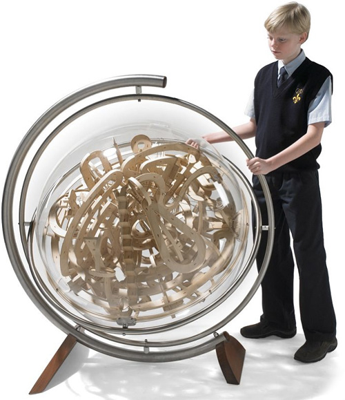 Superplexus Spherical Labyrinth (Image courtesy Hammacher Schlemmer)
