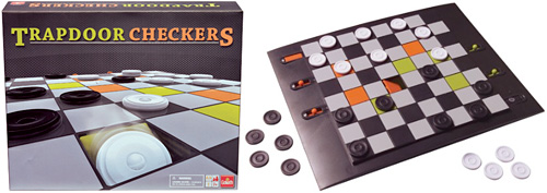 Trapdoor Checkers (Images courtesy Goliath Games)