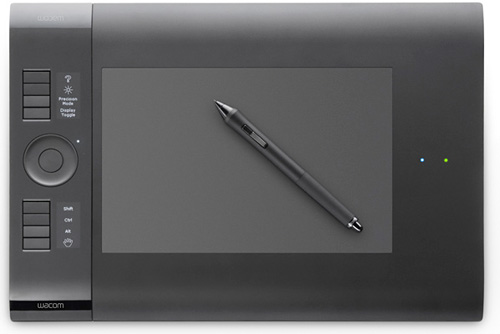 Wacom Intuos 4 Wireless (Image courtesy Wacom)
