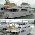 92-Foot Argos Gulfstream Yacht Forgoes A Helicopter For A 4-Seat Sportsman Airplane On Deck