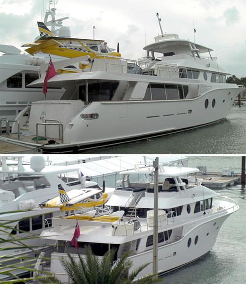 Argos Gulfstream Yacht (Images courtesy JustLuxe)