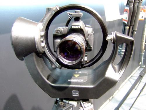 Gitzo Athena Remote Camera Head (Image courtesy Gizmag)