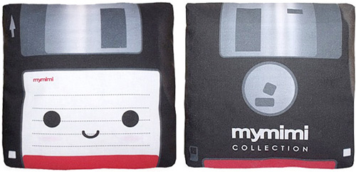 Mini Floppy Disc Pillow (Images courtesy ShanaLogic.com)